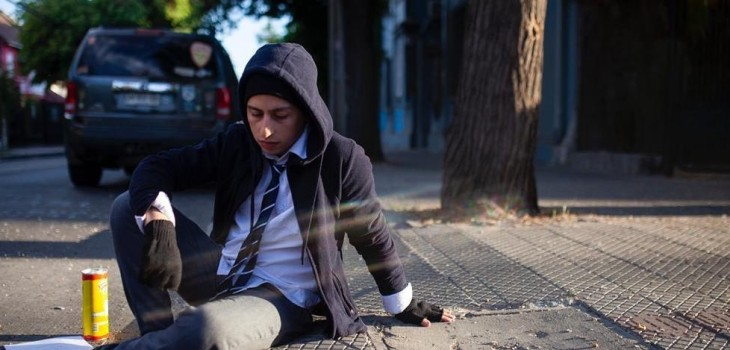 actores de 'El Reemplazante' se reunieron para grabar viral sobre crisis en Chile