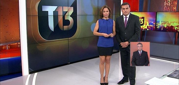 t13 y reclamos ante el cntv