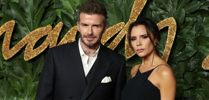 Victoria Beckham publicó fotos del bautizo de sus hijos menores: uno de los padrinos es Marc Anthony