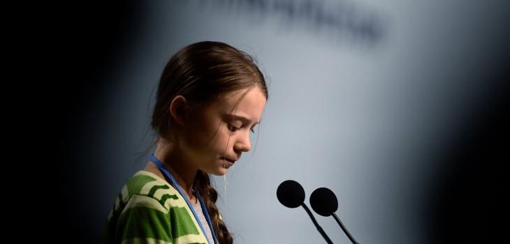 Greta Thunberg fue elegida personalidad del año de la revista TIME