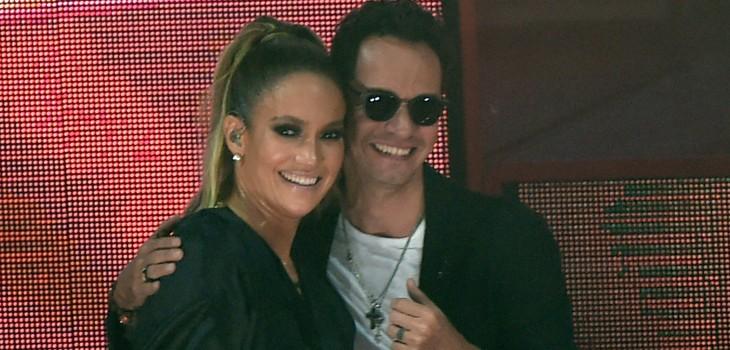 Jennifer Lopez y Marc Anthony demuestran que