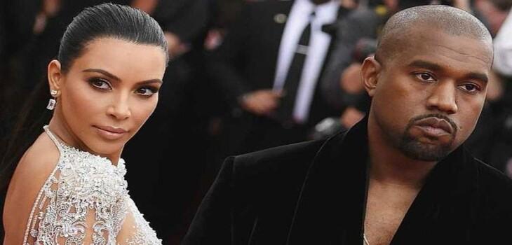 Kim confesó que usó photoshop en la postal navideña familiar de los West Kardashian