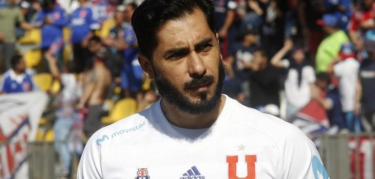 Johnny Herrera confirmó que no sigue en la 'U'