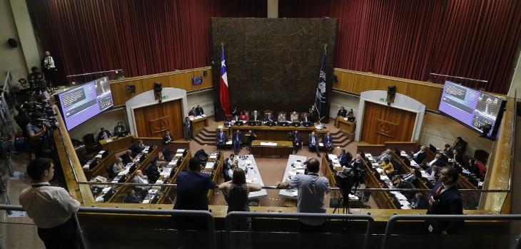 Senado aprueba proceso constituyente sin paridad ni escaños reservados