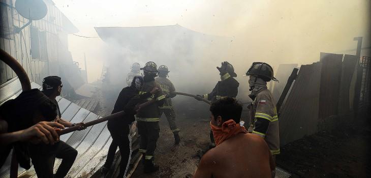 incendio en rocuant valparaíso