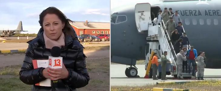 Coni Santa María es duramente criticada por pregunta sobre restos humanos de víctimas de avión C-130