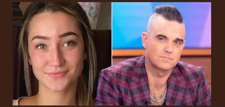 Robbie Williams ha habló después de que la hija de su amigo, Caitlin O'Reilly, se quitó la vida.