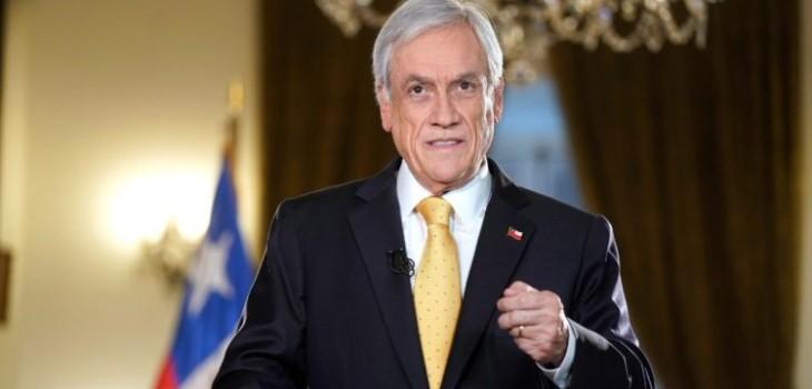 La razón por la que Piñera no se refirió al avión desaparecido durante cadena nacional