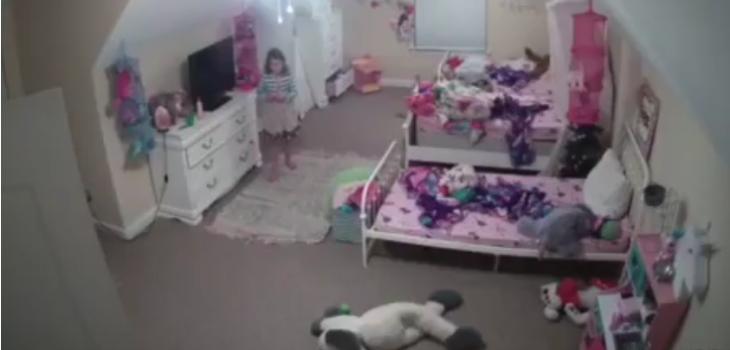 Sujeto acosó a niña de 8 años desde una cámara de seguridad en su dormitorio: video se hizo viral