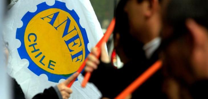 ANEF convoca a paro nacional martes 10