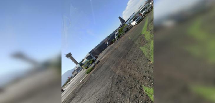 Avión Hércules peruano que iba a Antártida sufre desperfecto en Chile: tren de aterrizaje fue dañado