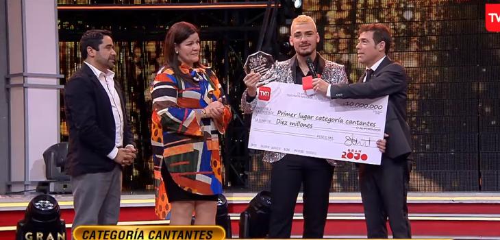 Benjamín Durán se confiesa tras ganar el 'Gran Rojo'