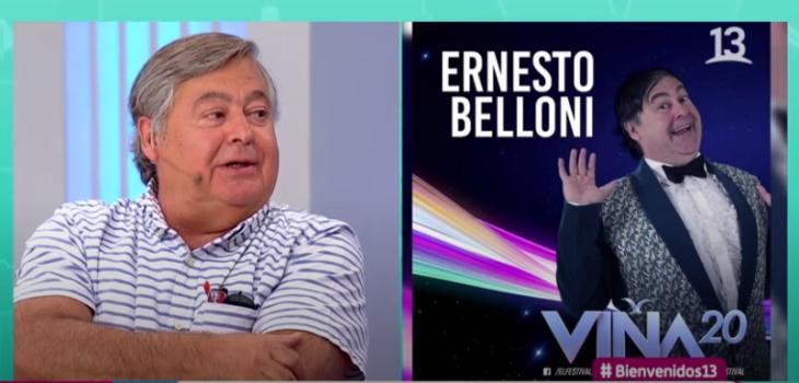 Ernesto Belloni habla sobre su show en Viña