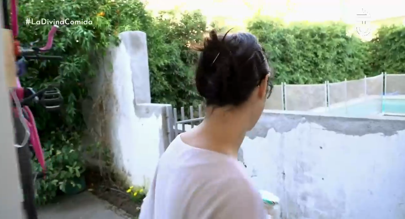 Blanca Lewin mostró la conexión (literal) que hay entre su casa y la de su pareja Daniel Matamala