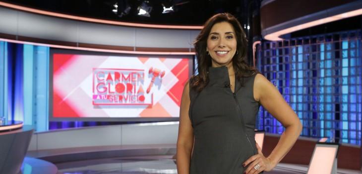 Carmen Gloria Arroyo tentada por Canal 13