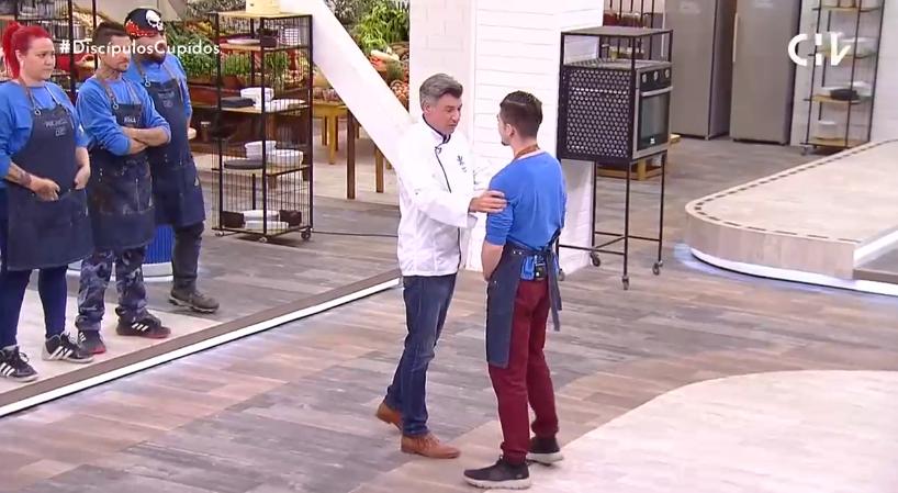 Potente confesión de Yann Yvin al eliminar a Diego en El Discípulo del Chef