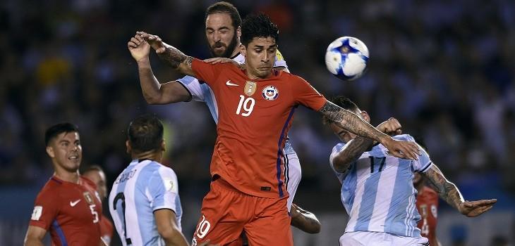 chile contra argentina