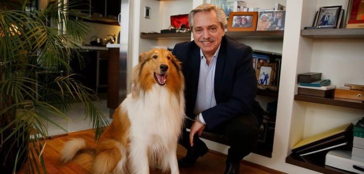 Dylan, el perro del nuevo presidente de Argentina que es furor en Instagram