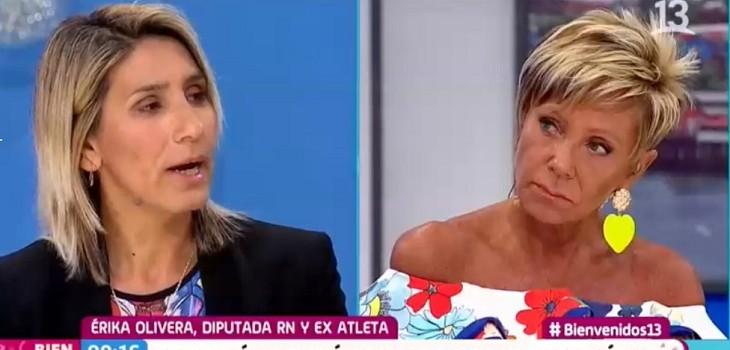 erika olivera bienvenidos