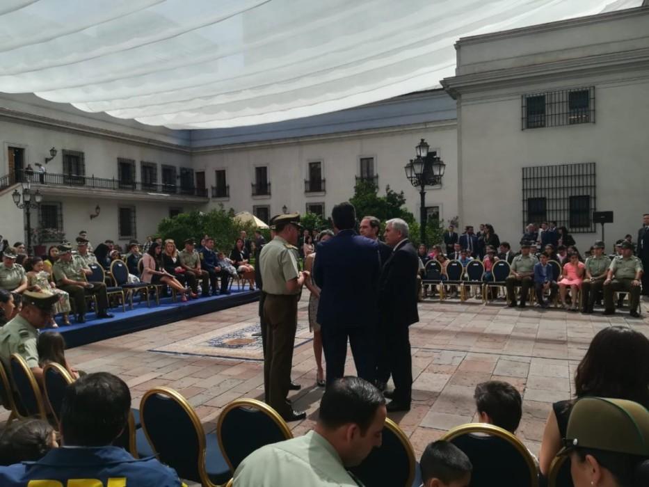 Piñera firma proyecto de ley que fortalece estatuto de protección de Carabineros, PDI y Gendarmería