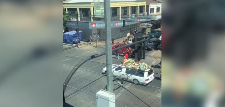 Cortejo fúnebre con balazos en Curicó