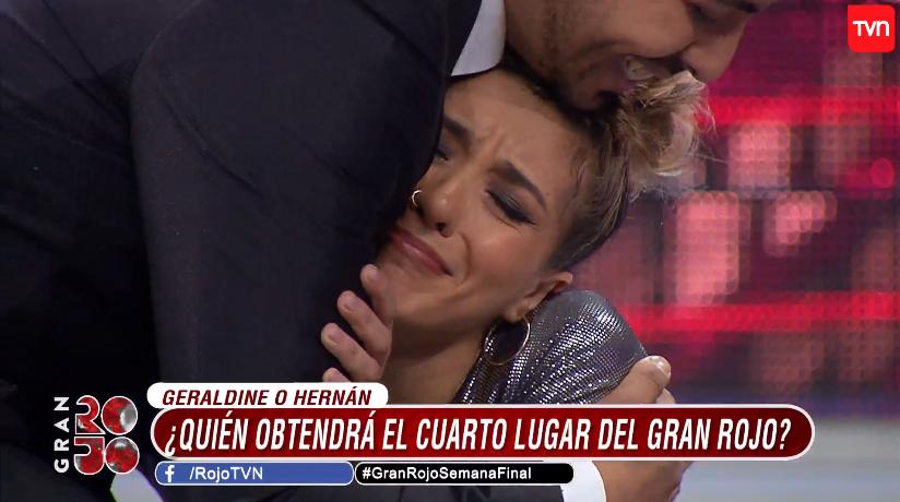 """Nicole y Geraldine se convirtieron en galistas del """"Gran Rojo"""": Hernán se quedó con el cuarto lugar"""