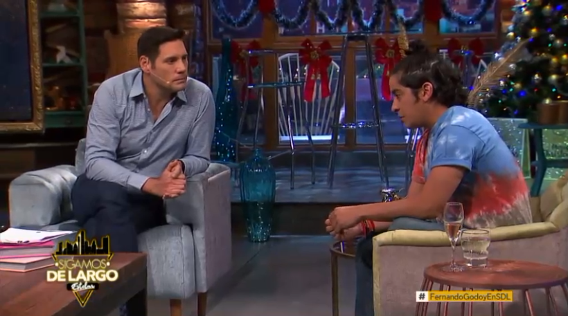 Fernando Godoy habla de la enfermedad de su madre