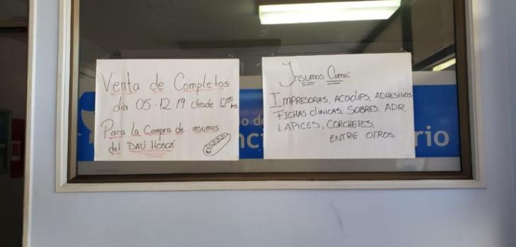"""Polémica generó aviso de """"completada"""" para comprar insumos médicos en el hospital de San Felipe"""