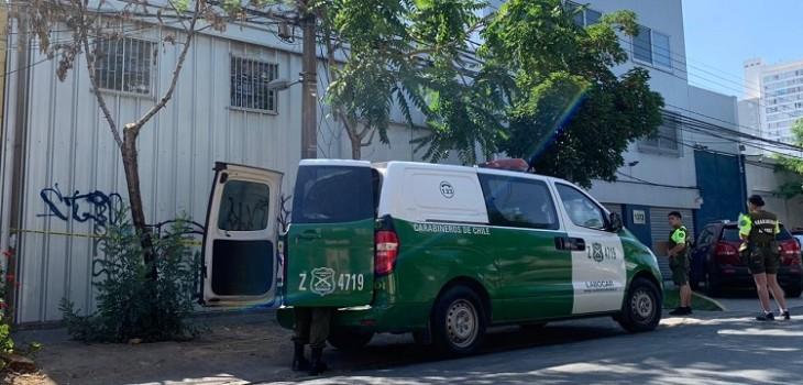 Roban bodega presidencial en pleno centro de Santiago