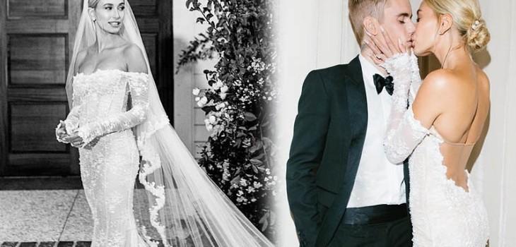 Hailey Bieber ha compartido una nueva y muy personal imagen de la boda