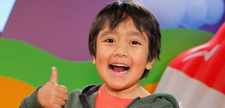 ryan kaji niño youtuber gano 22 millones de dolares