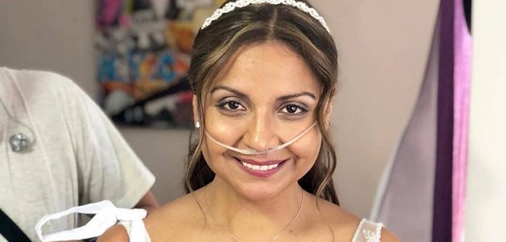 novia de 'Contra viento y marea' habló tras ser trasplantada