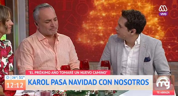 """Karol Lucero reapareció en """"Mucho Gusto"""" para despedirse"""