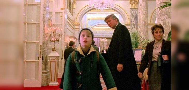 Donald Trump se refirió a su fugaz pero recordada participación en 'Mi Pobre Angelito 2'