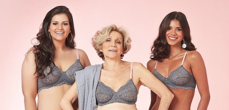 Helena Schargel. brasileña posa en lencería