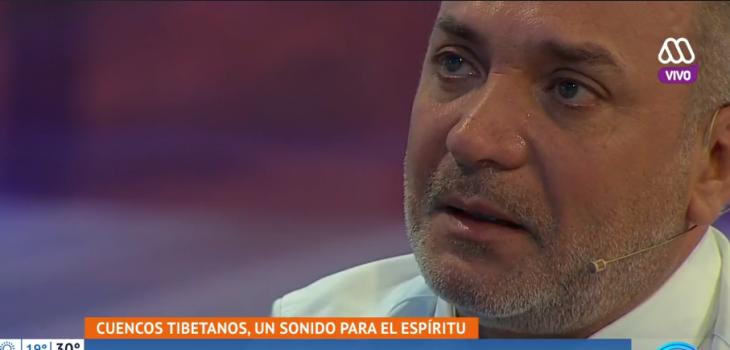 Luis Jara se quebró en pantalla al hablar de su gran pena
