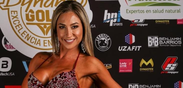 Nicole Moreno habla sobre campeonato fitness