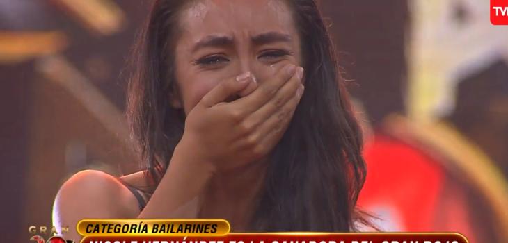 Potente musical llevó a Nicole Hernández a quedarse con el primer lugar del 'Gran Rojo'