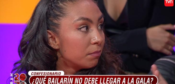 Nicole Hernández y su encontrón con Van Cauwelaert en Rojo: