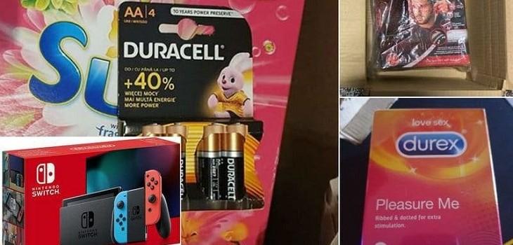 compraron nintendo y recibieron condones y pilas