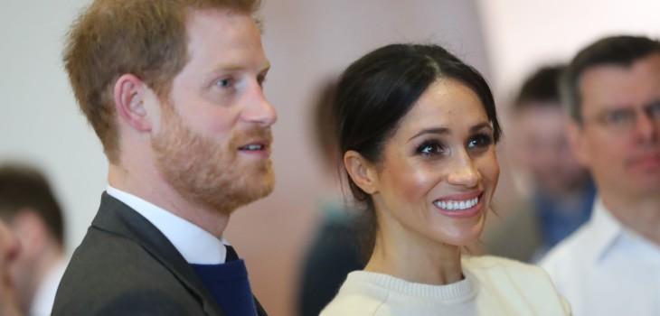 Príncipe Harry y Megan Markle