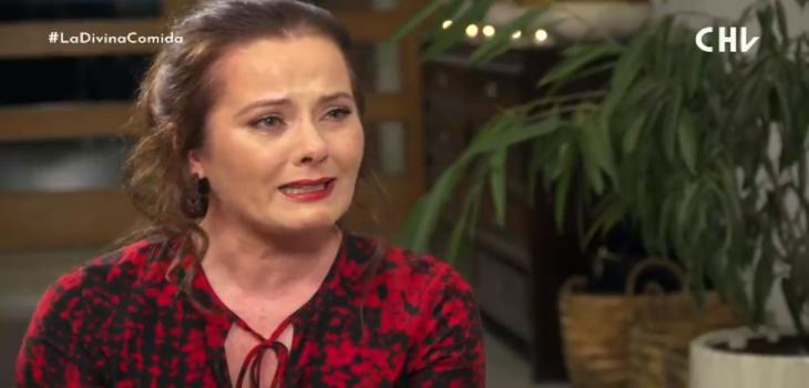 Araceli Vitta lloró contando la muerte de un amigo