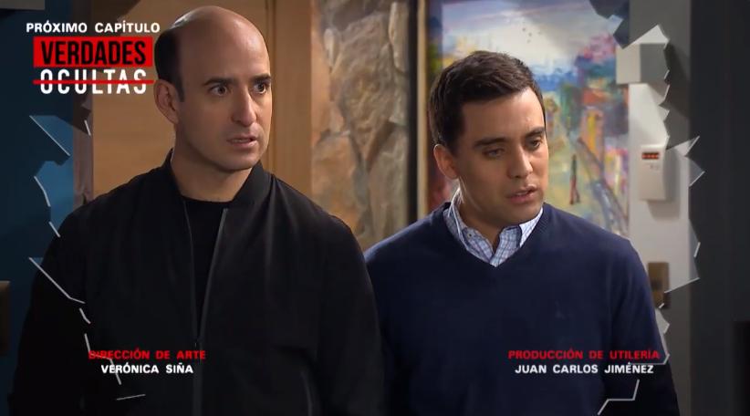 """""""Verdades Ocultas"""" mostró reencuentro de Javiera con Samuel y Gonzalo: les presentó a su bebé"""