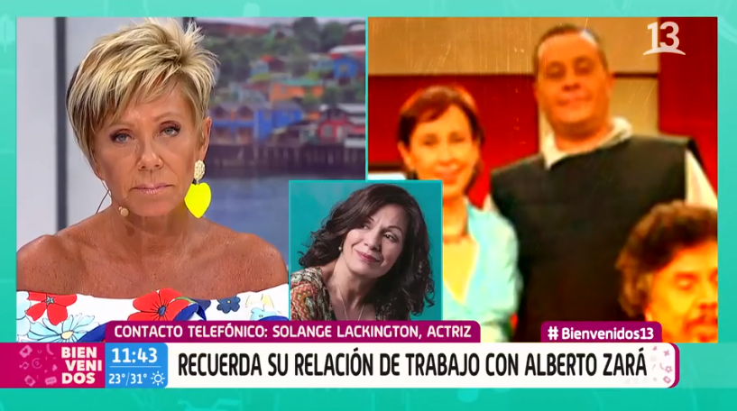Solange Lackington habla sobre Alberto Zará