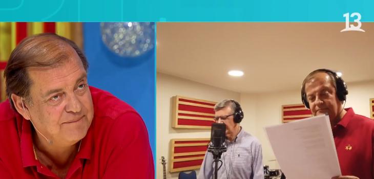 Lavín y Vidal cantaron tema de navidad en BV