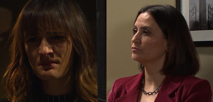 La advertencia de Eliana a Valentina tras provocar incendio en Verdades Ocultas