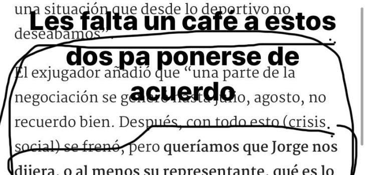 """El duro mensaje de Jorge Valdivia contra la dirigencia de Colo Colo: """"Ratas"""""""