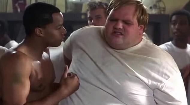 Interpretando a Louie Lastik en 'Duelo de Titanes' (2000)