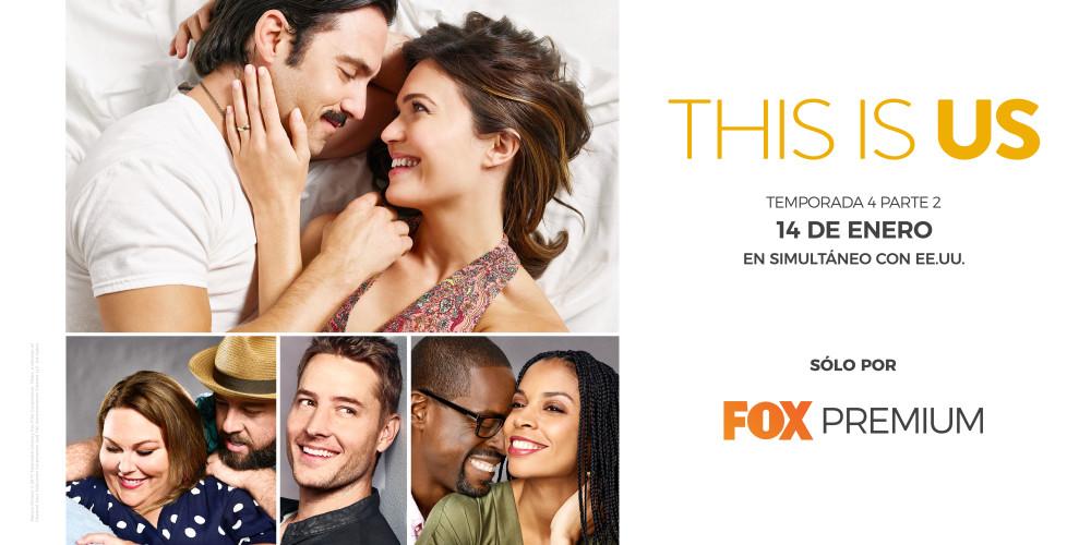 This Is Us estrena la segunda parte de su cuarta temporada en Fox Premium