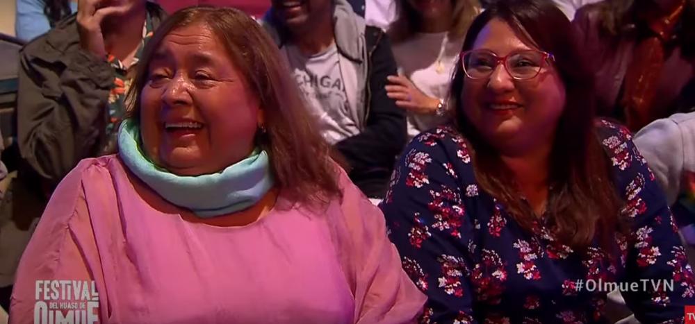 ¿Quién era la mujer enfocada durante show de Pamela Leiva en Olmué?